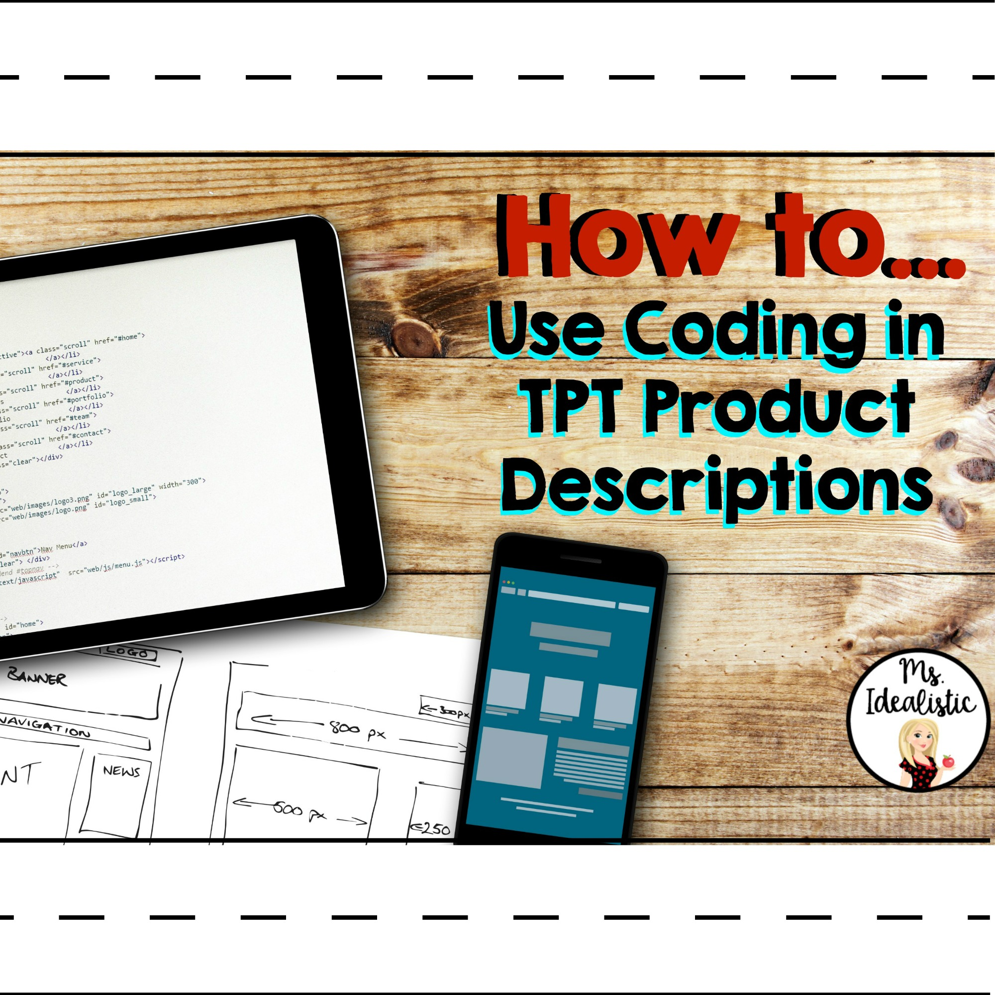 Text Decoration Italic: How To Use Coding In TPT Product Descriptions